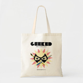 GEEKED Magazine- Mask Pen and Brush Tote