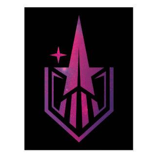 Geekerella Starfield Logo Postcard