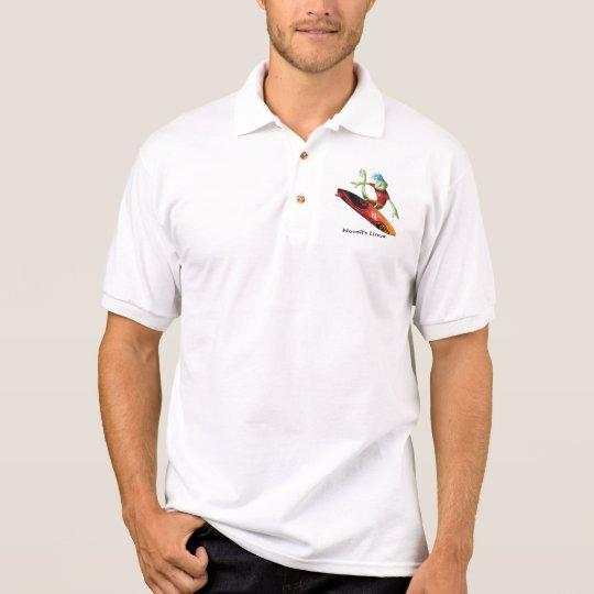 Geeko_surfer, Novell's Linux Geeko Polo Shirt
