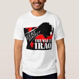 Geeks Against the War in Iraq T-shirt