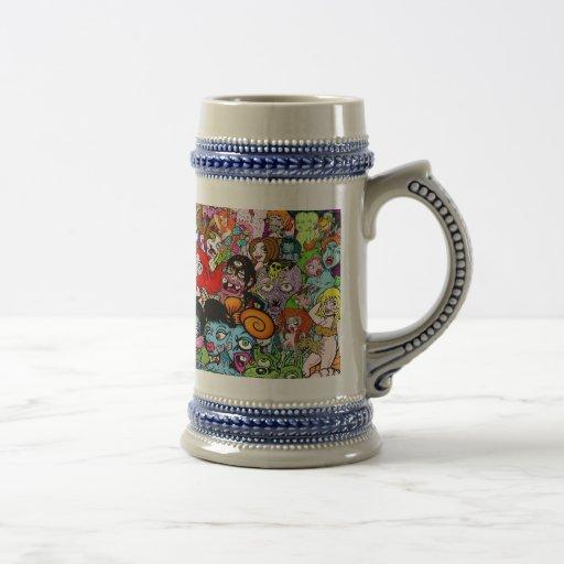 Geeks & Freaks Coffee Mug