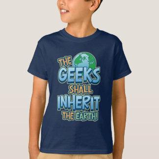 Geeks Inherit Earth T-Shirt