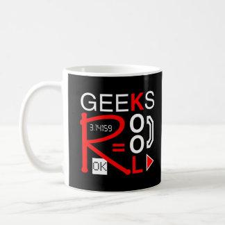 Geeks R Kool Classic White Coffee Mug