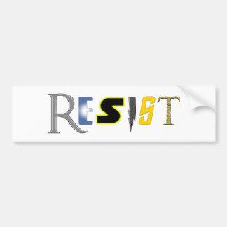 Geeks Resist! Bumper Sticker