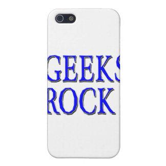 Geeks Rock ! Blue iPhone 5 Case