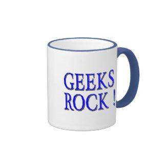Geeks Rock !  Blue Mug