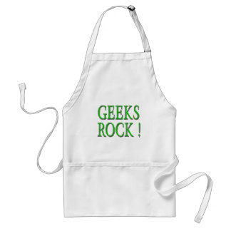 Geeks Rock !  Green Apron