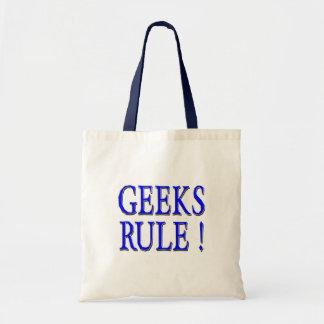 Geeks Rule !  Blue Bag