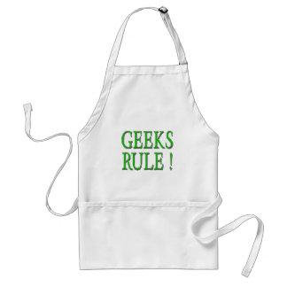 Geeks Rule !  Green Apron