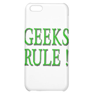 Geeks Rule ! Green Case For iPhone 5C