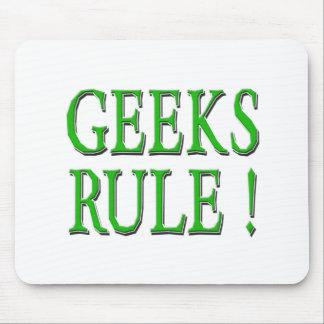 Geeks Rule Green Mousepad