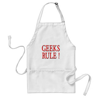 Geeks Rule !  Red Aprons