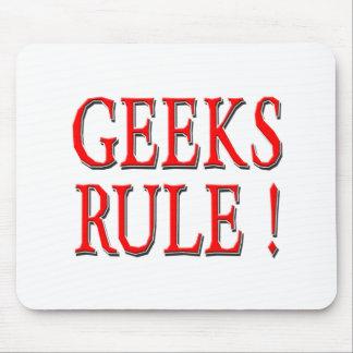 Geeks Rule Red Mousepad