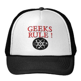 Geeks Rule !  with Atom Mesh Hats
