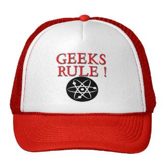 Geeks Rule !  with Atom Hats