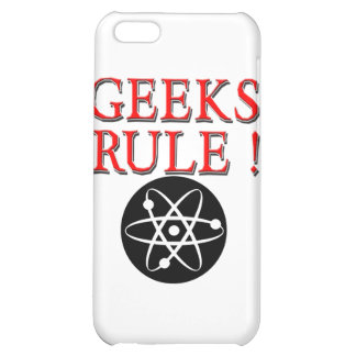 Geeks Rule ! with Atom iPhone 5C Cases