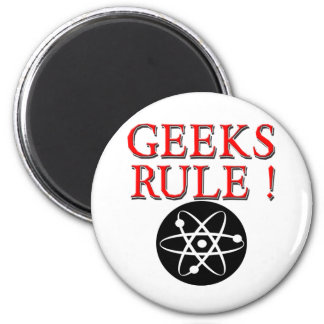 Geeks Rule with Atom Magnets