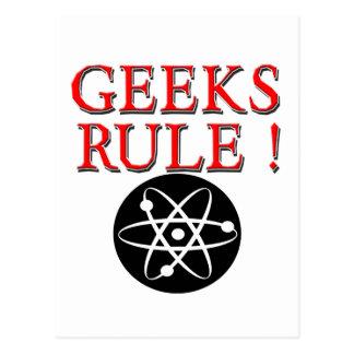 Geeks Rule !  with Atom Postcard