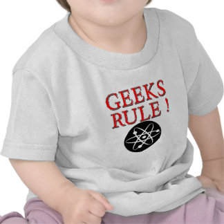Geeks Rule !  with Atom T-shirts