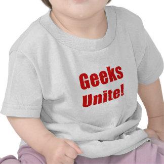 Geeks Unite Tee Shirt