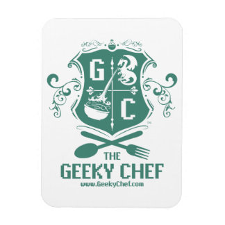 Geeky Chef Refrigerator Magnet
