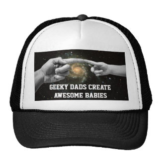 geeky dads create awesome babies funny hat