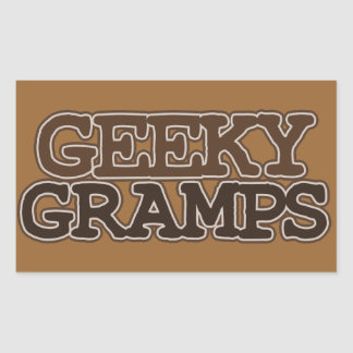 Geeky Gramps Stickers