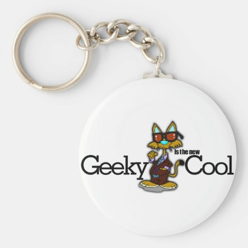 Geeky is the new cool key chain