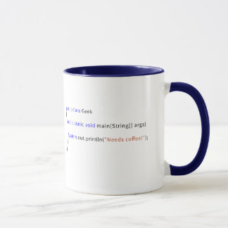 Geeky Java Mug for Devs