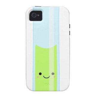 Geeky kawaii test tube Case-Mate iPhone 4 cover