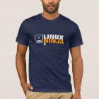 Geeky Linux Ninja T-shirt