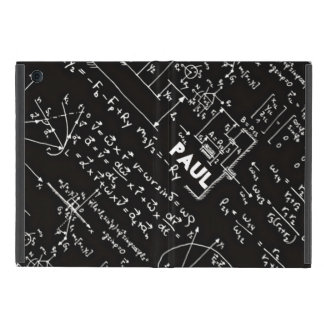 Geeky Math Mathematics Nerd Personalized iPad Mini Cases