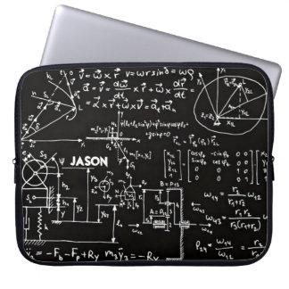 Geeky Math Mathematics Personalized Laptop Sleeves