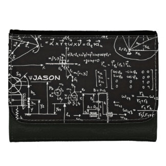 Geeky Math Mathematics Personalized Wallet For Women