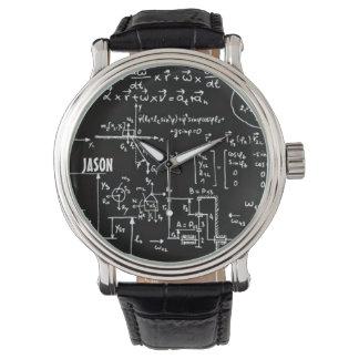 Geeky Math Mathematics Personalized Watch