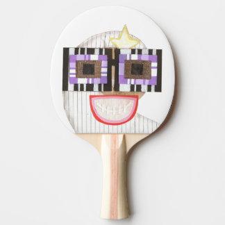 Geeky Moon Ping Pong Bat Ping Pong Paddle