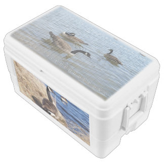 Geese, 48 Quart Duo Deco Cooler