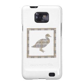 GEESE Bird CRYSAL Stone Pattern NVN429 FUN KIDS Samsung Galaxy SII Covers