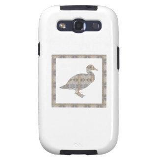 GEESE Bird CRYSAL Stone Pattern NVN429 FUN KIDS Samsung Galaxy S3 Cases