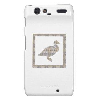 GEESE Bird CRYSAL Stone Pattern NVN429 FUN KIDS Motorola Droid RAZR Cover