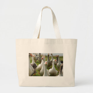 Geese Large Tote Bag