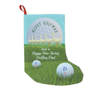 fa27b86a787 Geese Laying Golf Balls Golfmas Christmas Stocking