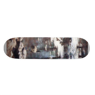 Geese on an Icy Pond Skate Deck