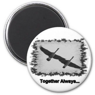 geese together magnet