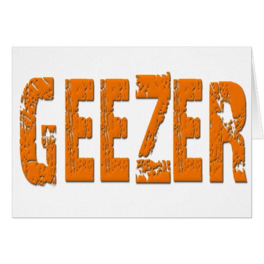 Geezer Card