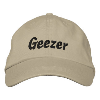 Geezer Embroidered Cap / Hat