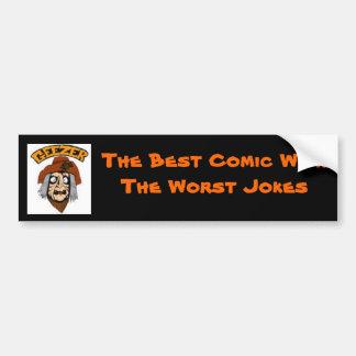 gEEZERcOLORhEAD1-1, The Best Comic... - Customized Bumper Sticker
