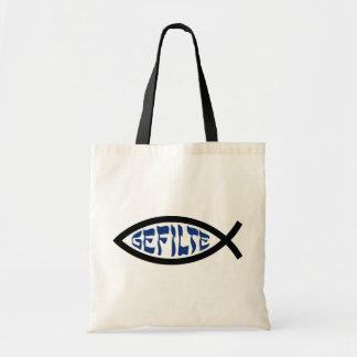 Gefilte Jesus Fish Budget Tote Bag