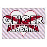 Geiger, Alabama Card