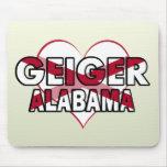 Geiger, Alabama Mouse Pads